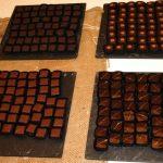 Chocolats réalisés par Philippe Pascoët avec la couverture Belcolade
