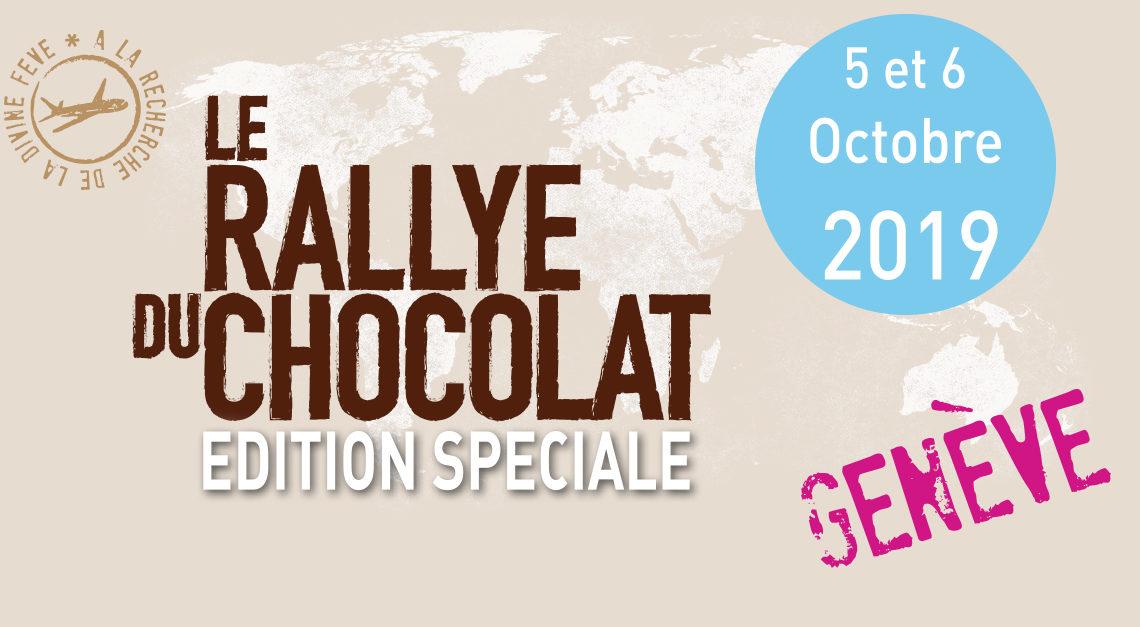 A vos Marques !! Le Rallye du Chocolat de Genève fête ses 5 ans. Rendez-vous samedi 5 et dimanche 6 octobre 2019