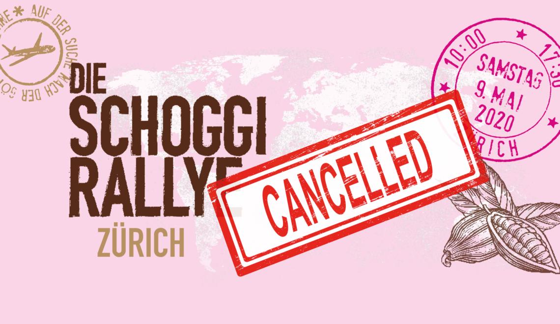 Le Rallye du Chocolat de Zurich est annulé !!!