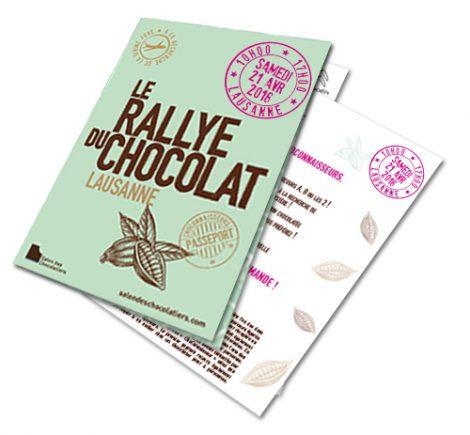 Passeport Rallye du chocolat Lausanne 2018